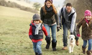 Почему когда на прогулку выходит вся семья, собака бегает от одного к другому?